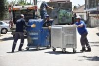 ÇÖP KUTUSU - İncirliova'da Çöp Konteynırları Yenileniyor