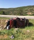 Kontrolden Çıkan Araç Takla Attı Açıklaması 9 Yaralı