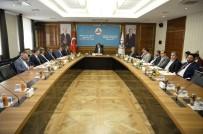 RAMAZAN ÖZCAN - MTB Yönetiminden Bakan Tüfenkci'ye Ziyaret