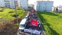 SABAH NAMAZı - Öğrencilerden Şehitlere Vefa Yürüyüşü