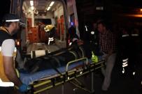 TİCARİ TAKSİ - Polise Çarpıp Kaçan Şüpheli Evinde Yakalandı