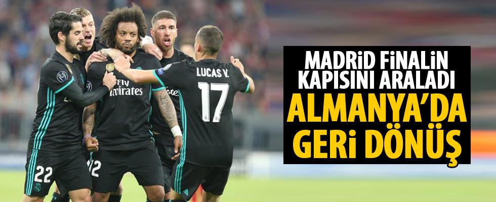 Real Madrid'den Münih'te geri dönüş!