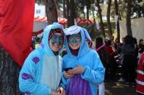 ÇOCUK FESTİVALİ - Samsun'da Mavi Çocuk Festivali