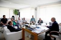 AMATÖR - SASKİ Genel Müdürü Keleş, ASKF Heyeti İle Bir Araya Geldi