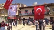 KÖY MEZARLIĞI - Şehit Astsubay Akın'ın Cenazesi Toprağa Verildi