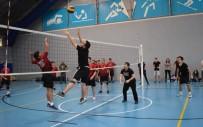 BEŞEVLER - Spor Şenliklerde Cimnastik Ve Voleybol Heyecanı