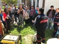AFET BİLİNCİ - Tekirdağ Afet Gönüllüleri Projesi Eğitimleri Tamamlandı