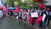 HALİL MUTLU - Washington'da 'Ermeni İddialarına' karşı protesto
