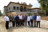 GÜRÜLTÜ KİRLİLİĞİ - Yüreğir'e Osmanlı Selçuklu Mimarisiyle Kına Konağı Yapılıyor