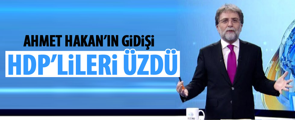 Ahmet Hakan'a üzülen HDP'li