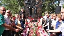 ALI EKBER - Ali Ekber Çiçek Kabri Başında Anıldı