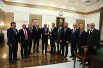 7 MİLYAR DOLAR - ATO Yönetiminden Sağlık Bakanı Demircan'a Ziyaret