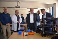 Başkan Bahçavan Endüstri Meslek Lisesini Ziyaret Etti