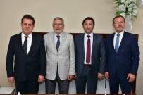 HALIL ÜNAL - Başkan Bozkurt'tan Ünal'a Hayırlı Olsun Ziyareti