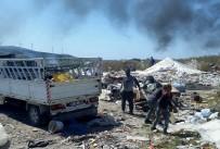 MUKAVVA - Çeşme'de Hurdacılara Operasyon