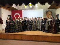 KERVANSARAY - Eğirdi'de 'Bir Türküdür Eğirdir' Korosu Göz Kamaştırdı
