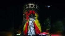 GALATA - Galata Kulesi'ne Yansıtılan Video Mapping Gösterisi Mest Etti