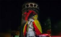 GALATA - Galata Kulesi'ne Yansıtılan Video Mapping