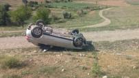 Gercüş'te Takla Atan Otomobilde 1 Kişi Yaralandı