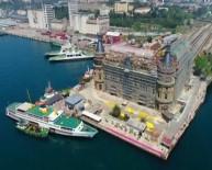 DEMİRYOLLARI - Haydarpaşa Garı'nda Restorasyon Çalışmaları Havadan Görüntülendi