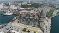 DEMİRYOLLARI - Haydarpaşa Garında Restorasyon Çalışmaları Sürüyor