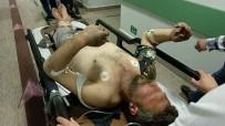 KıŞLA - İnşaatta Çalışan İşçileri Elektrik Çarptı Açıklaması 2 Yaralı