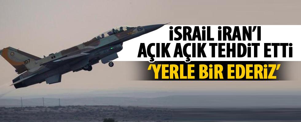 İsrail, İran'ı tehdit etti