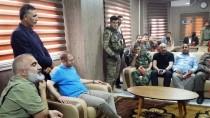 ÖZGÜR SURİYE ORDUSU - Türk Heyeti Cerablus'da Yeni Belediye Binası Açılışına Katıldı