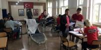 Asker Ve Korucular Kızılay'a Kan Bağışında Bulundu