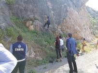 Cankul, Kaya Tırmanışı Yapan Sporcuları Ziyaret Etti