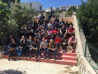 CUNDA ADASı - DAÜ Öğrencilerinden İzmir'de Kültür Turu