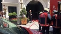 AŞIRI KİLOLU - Eminönü'nde Otelde Yangın Paniği