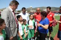 BODRUM KAYMAKAMI - İsmail Altındağ Çocuk Futbol Festivali Kupa Ve Ödül Töreniyle Sona Erdi