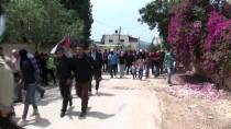 PLASTİK MERMİ - İsrail Askerlerinden Batı Şeria'daki Gösterilere Müdahale