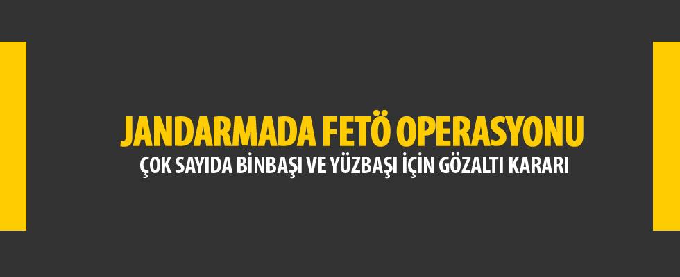 Jandarma'da FETÖ operasyonu: 32 gözaltı kararı