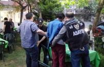SİVİL POLİS - Kağıthane'de Helikopter Destekli Narkotik Uygulaması