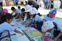 EĞITIM İŞ - Milas'ta 50 Öğrenci Doğanın Koynunda Sanatla Buluştu