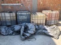 Adana'da Kaçak Akaryakıt Operasyonu... 2 Bin 400 Litre Kaçak Akaryakıt Ele Geçirildi