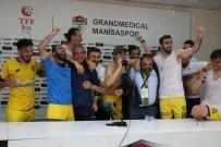 İSMAİL KARTAL - Ankaragücü Futbolcularından Basın Toplantısında Sulu Kutlama