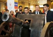 BİLEK GÜREŞİ - Bakan Bak, NUSRAT'ta Top Atışı Yaptı, Robotlarla Futbol Oynadı