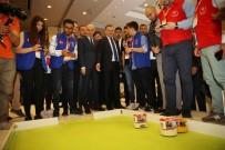 BİLEK GÜREŞİ - Bakan Bak Robotlarla Futbol Oynadı