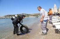 BITEZ - Bodrum'da Deniz Dibi Temizliği Sürüyor
