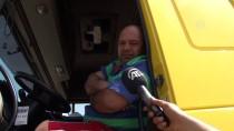 HAMZABEYLI - Bulgaristan'a Açılan Sınır Kapılarında Tır Kuyruğu