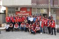 MEZARLIK ZİYARETİ - Damla Gençleri Silopi'de