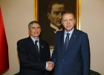AZİZ SANCAR - Erdoğan, Nobel Ödüllü Bilim Adamı Aziz Sancar'ı Kabul Etti