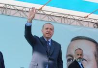 İBRAHİM TATLISES - Erdoğan, Seçim Startını İzmir'den Verdi