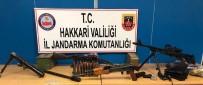 HAKKARI VALILIĞI - Hakkari Kırsalında Silah, Mühimmat Ele Geçirildi