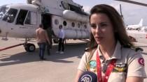 YANGIN HELİKOPTERİ - Kadın Helikopter Pilotu Alevlere Meydan Okuyor