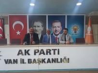 SELAMET - Naif Şabu AK Partiden Aday Adayı Oldu