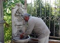 EMIRGAN - (Özel) Mermere Nakış Gibi İşlediği Şadırvanı Taksim Camii'ne Bağışlıyor